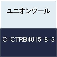 ユニオンツール 超硬エンドミル テーパボール R0.75×刃長8×片角1.3°CCTRB401583