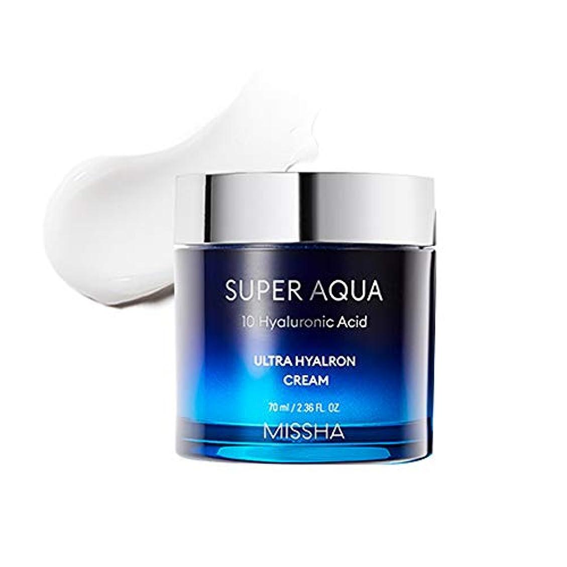 蒸し器殺すチーター[New]ミシャスーパーアクアウルトラヒアロンクリーム Missha Super Aqua Ultra Hyalron Cream [並行輸入品]