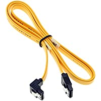 SATA IIIデバイスケーブル26 AWG Straight to右â € ¦ 16 inches 26SR407YL
