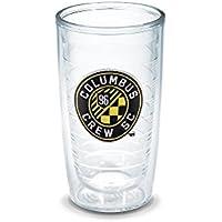 Tervis 1200483 Columbus Crew Tumbler Emblem 16 oz Clear [並行輸入品]