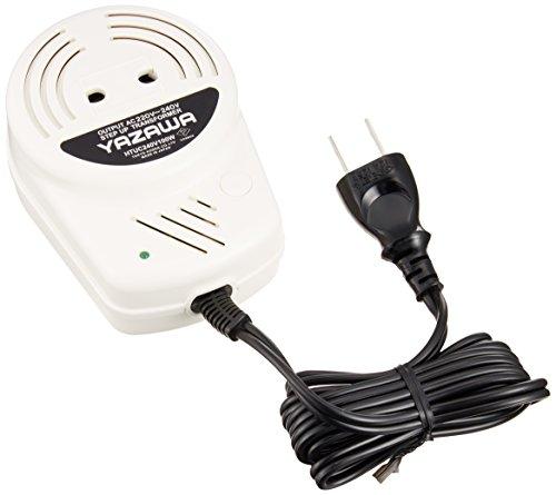 ヤザワ 海外電気製品用変圧器 AC220V-240V 容量1...