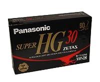 Panasonic VHS-Cテープ ZETAS Super HG 30分 NV-TC30ZHG