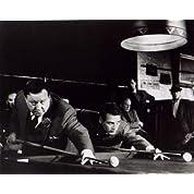 ブロマイド写真★『ハスラー』エディ(ポール・ニューマン)とミネソタ・ファッツ(ジャッキー・グリーソン)の試合