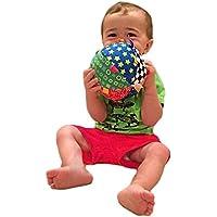elegantstunning Baby Rattles布ボールおもちゃギフトforキッズ/ベビー/幼児カラフルソフト
