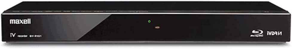 maxell アイヴィブルー  500GB 2チューナー ブルーレイレコーダー iVDRスロット搭載 BIV-R521-C