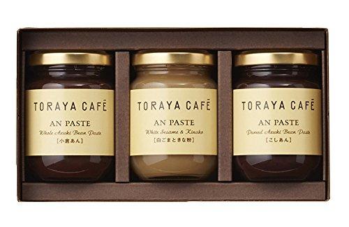 TORAYA CAFE あんペーストS3入(こしあん・白ごまときな粉・小倉あん)