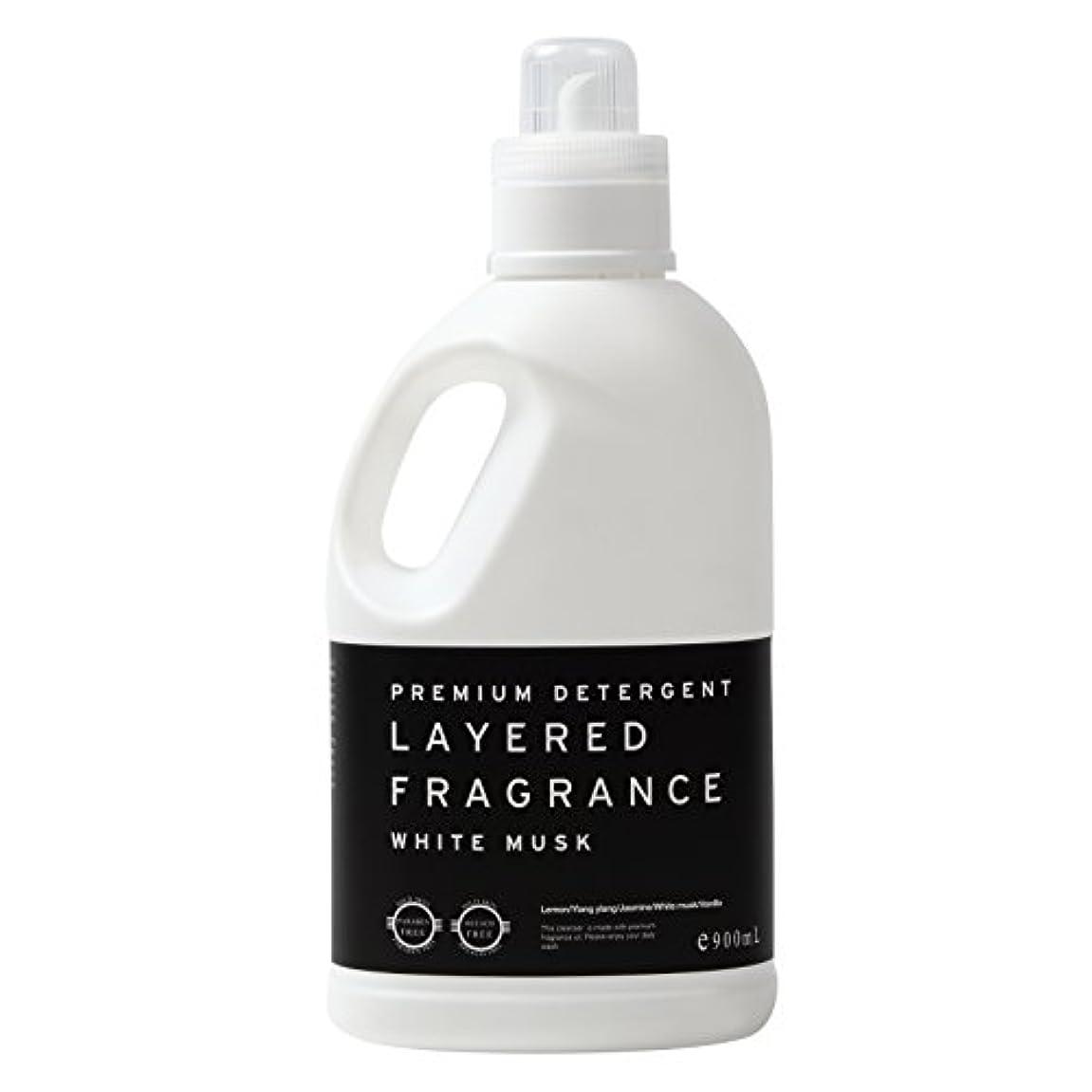 要旨確立しますポットレイヤードフレグランス プレミアム デタージェント 洗濯用洗剤 ホワイトムスク