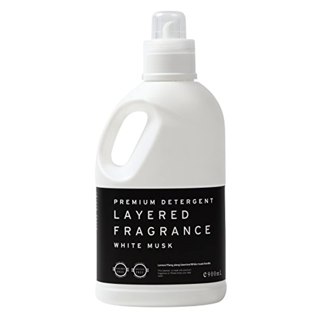 アウトドア一般的な簡単にレイヤードフレグランス プレミアム デタージェント 洗濯用洗剤 ホワイトムスク