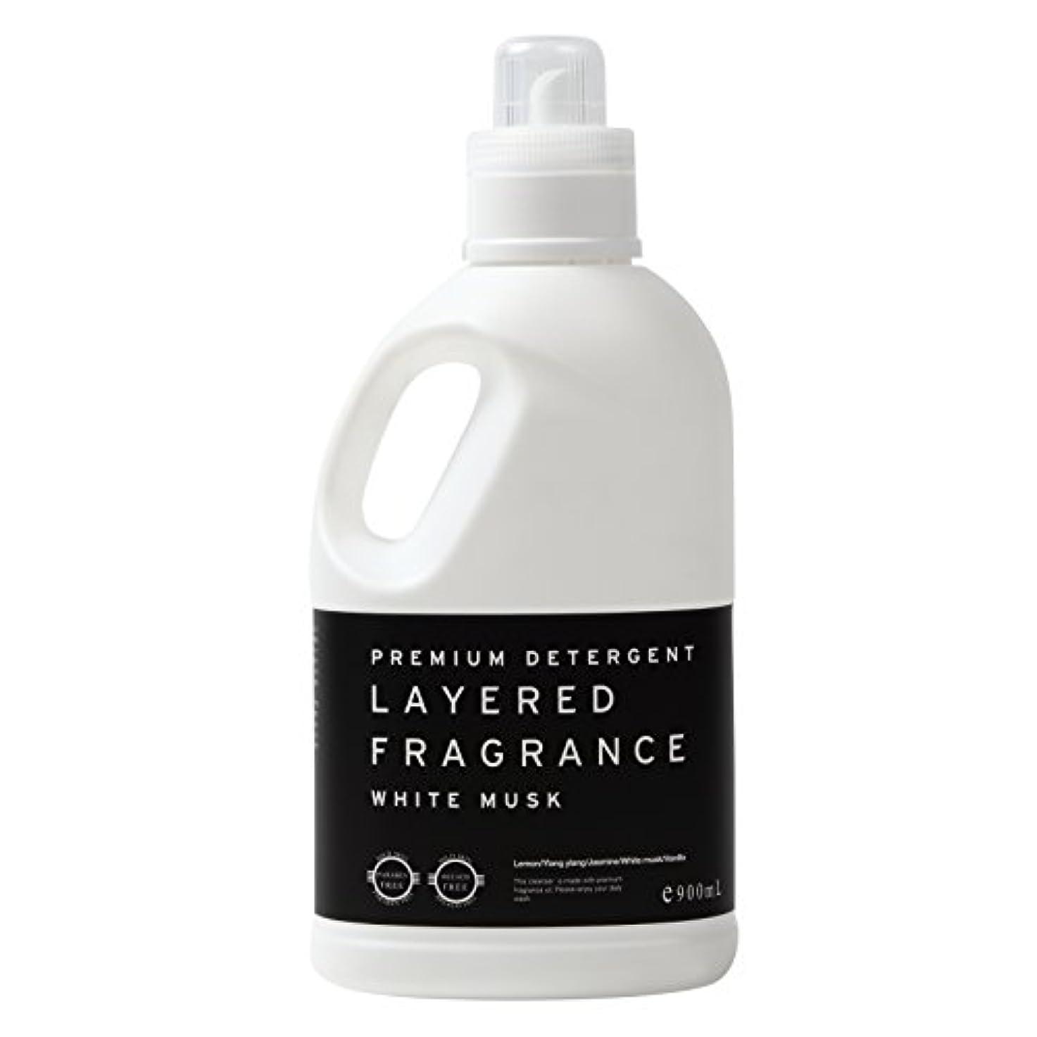 コンサルタントペインティング米国レイヤードフレグランス プレミアム デタージェント 洗濯用洗剤 ホワイトムスク