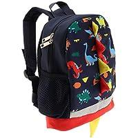 Blesiya Dinosaur Backpack Baby Kids Child Waterproof 3D Cartoon Bag for Preschool Pre Kindergarten Toddler 2-7 Years