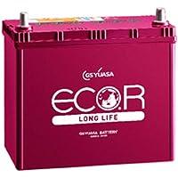 GS YUASA [ ジーエスユアサ ] 国産車バッテリー [ ECO.R LONG LIFE ] EL-70B24L/N-55