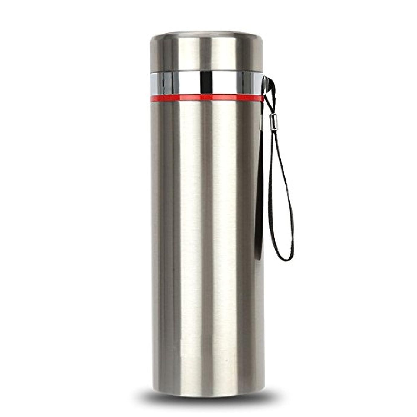 分類士気オープナーFeelyer ステンレス鋼大容量800ミリリットルスポーツボトル断熱カップ人間工学に基づいたデザインポータブルウォーターカップ高温品質保証 顧客に愛されて (Capacity : 1L, 色 : 銀)