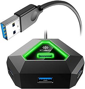 ineo 4ポート USB 3.1 Gen 1 Type-A*4 ハブ [THC10]