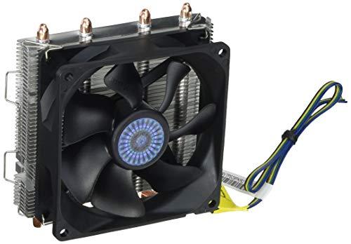 CoolerMaster Vortex Plus (小型トップフローコンパクトなCPUクーラー) RR-VTPS-28PK-R2 1個