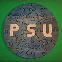 THE PUZZLE-MAN TOYS W-1218-010 木製教育ジグソーパズル 18インチ ペンシルベニア州立大学
