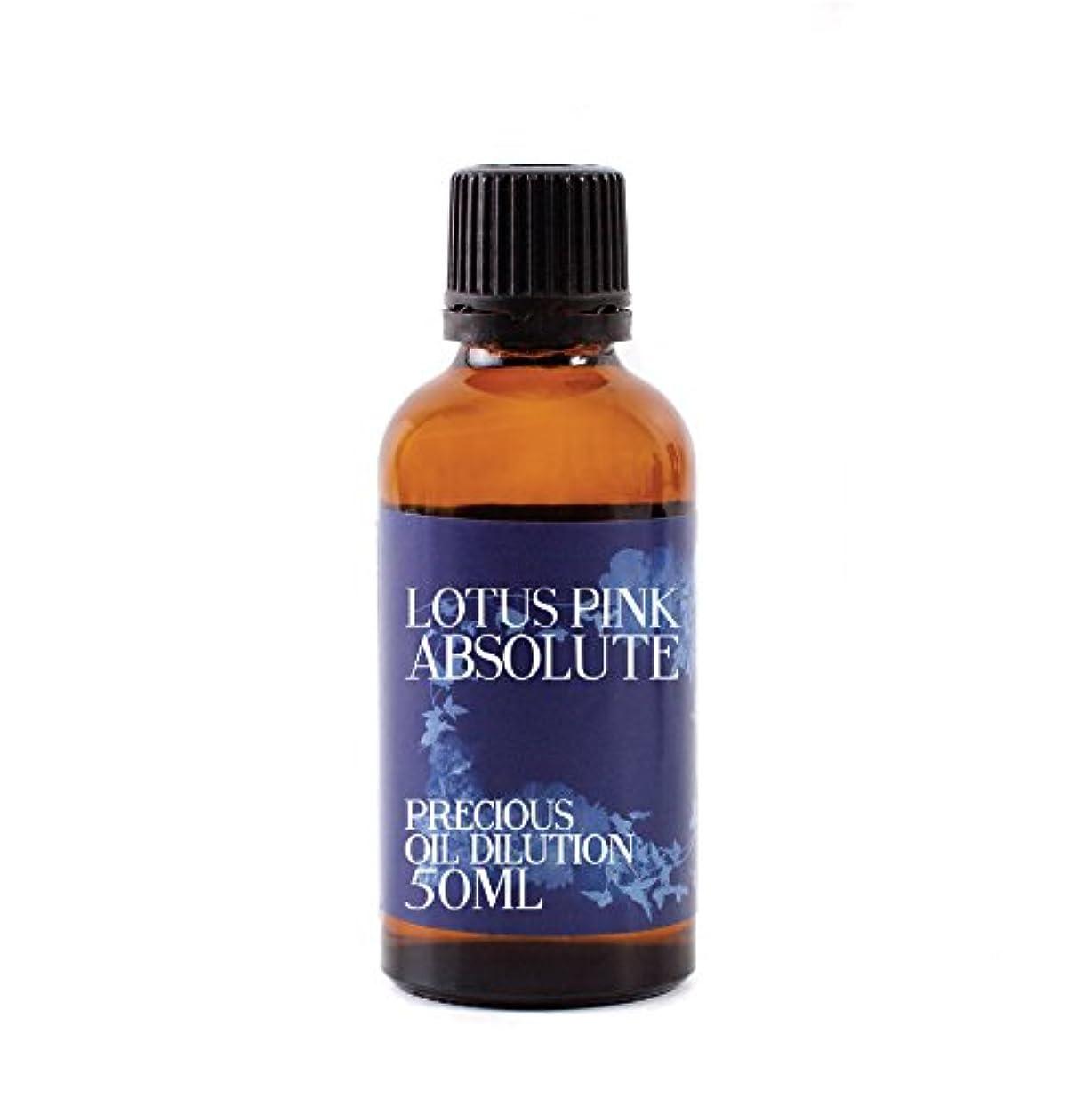 クラシック死すべき眩惑するLotus Pink Absolute Oil Dilution - 50ml - 3% Jojoba Blend