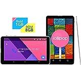 64-bit SoFIA Quad-Core搭載7インチ 3G タブレット●ROM 1GB + RAM 8GB★CHUWI Vi7 3G-R Super Edition Android5.1 Lollipop搭載★3G SIM Free 2 Slot・Bluetooth・GPS・Wi-FI・テザリング●完全日本仕様