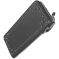 Artemis Classic アルテミスクラシック スタッズ ロング ジップ ウォレット メンズ カウレザー 長財布 サイフ ACW0009