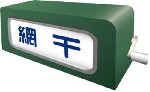 部品模型シリーズ SHM-02 手動前面方向幕113系東海道・山陽線