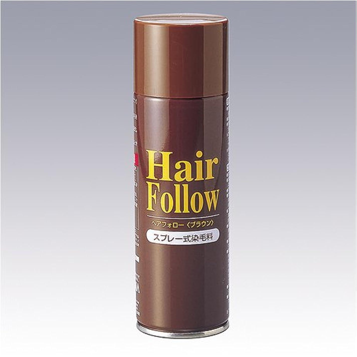 リスク脆い騒々しいヘアフォロー ブラウン