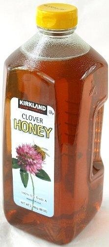 カークランド クローバーはちみつ(蜂蜜・ハチミツ・HONEY)Grade A 2.26kg×4本