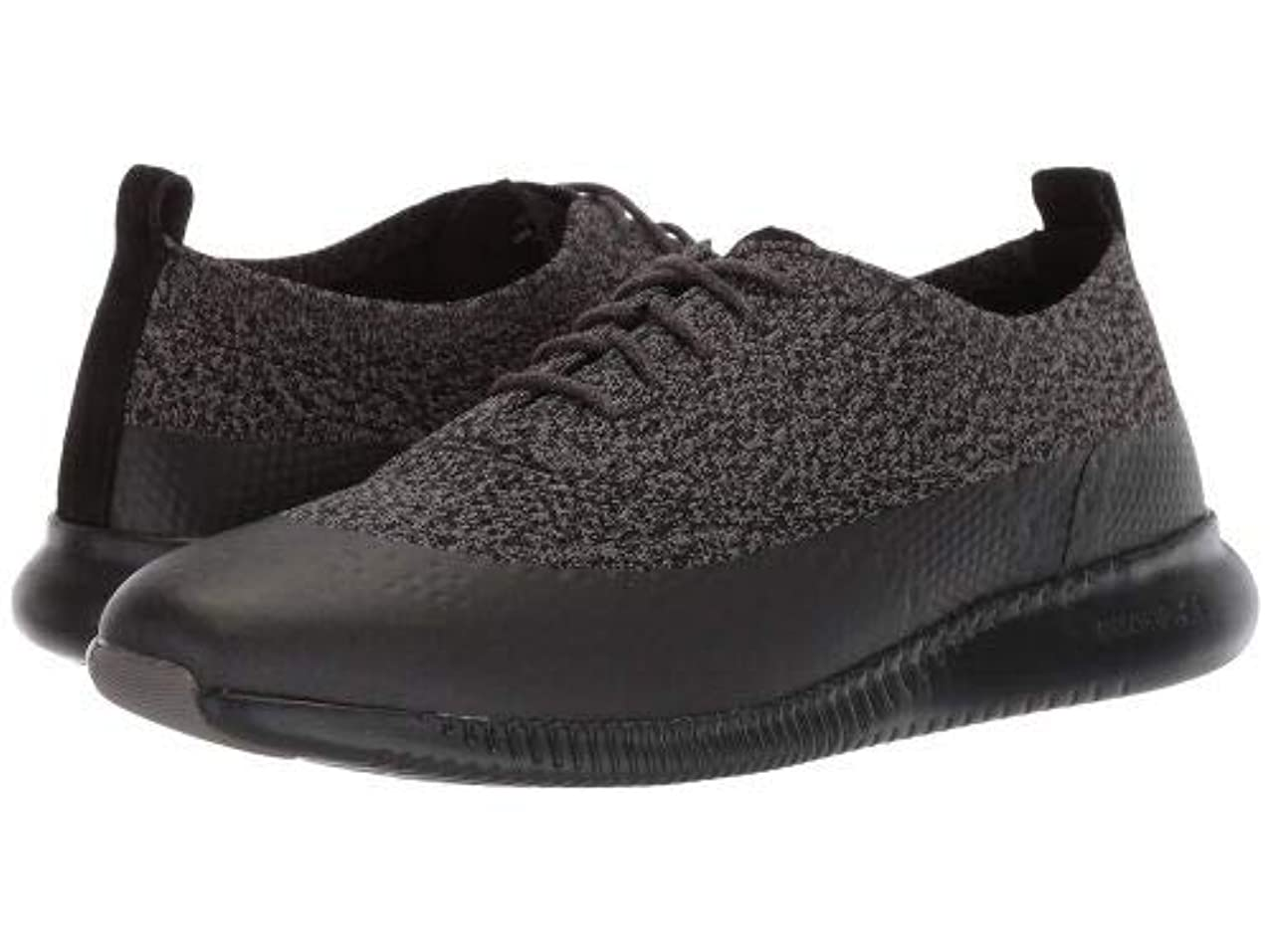学校納得させる制限Cole Haan(コールハーン) レディース 女性用 シューズ 靴 スニーカー 運動靴 2.Zerogrand Stitchlite Oxford Water Resistant - Black/Stormcloud Knit [並行輸入品]