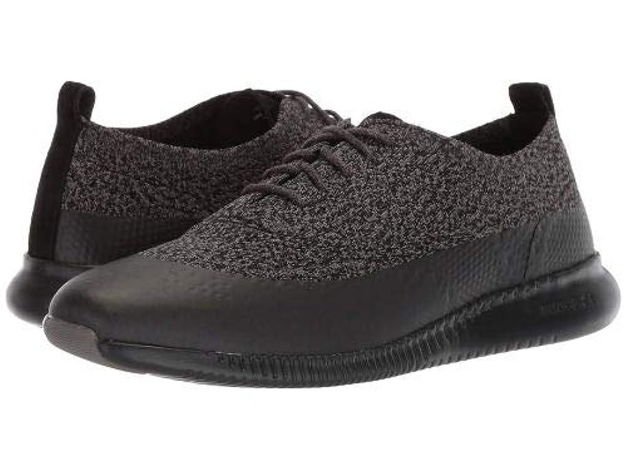 シンジケート散文ハーネスCole Haan(コールハーン) レディース 女性用 シューズ 靴 スニーカー 運動靴 2.Zerogrand Stitchlite Oxford Water Resistant - Black/Stormcloud Knit [並行輸入品]