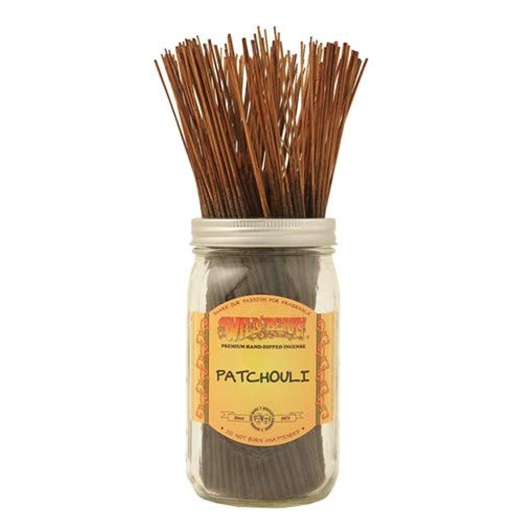 不十分な診療所悲しいことにPatchouli - 100 Wildberry Incense Sticks