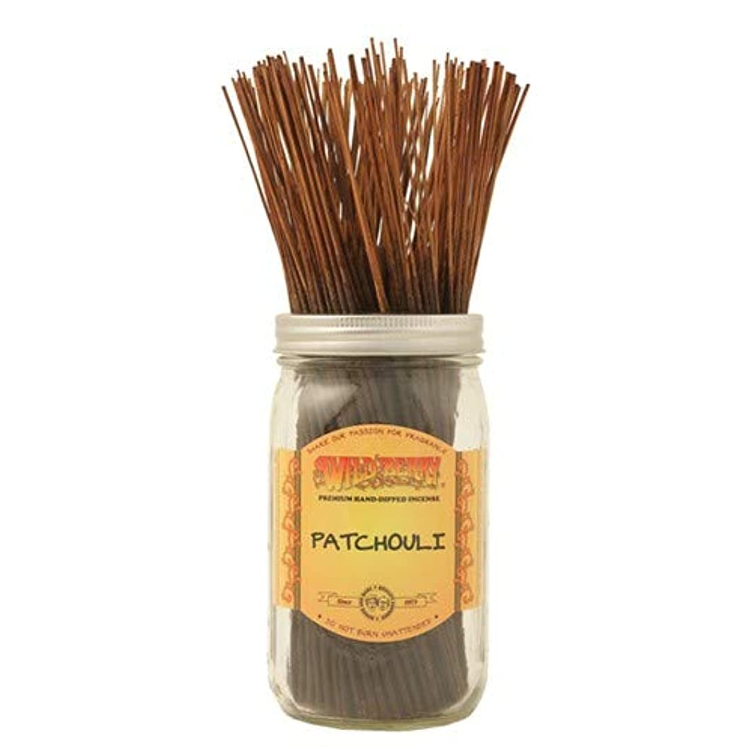 スカープ比喩ヒープPatchouli - 100 Wildberry Incense Sticks
