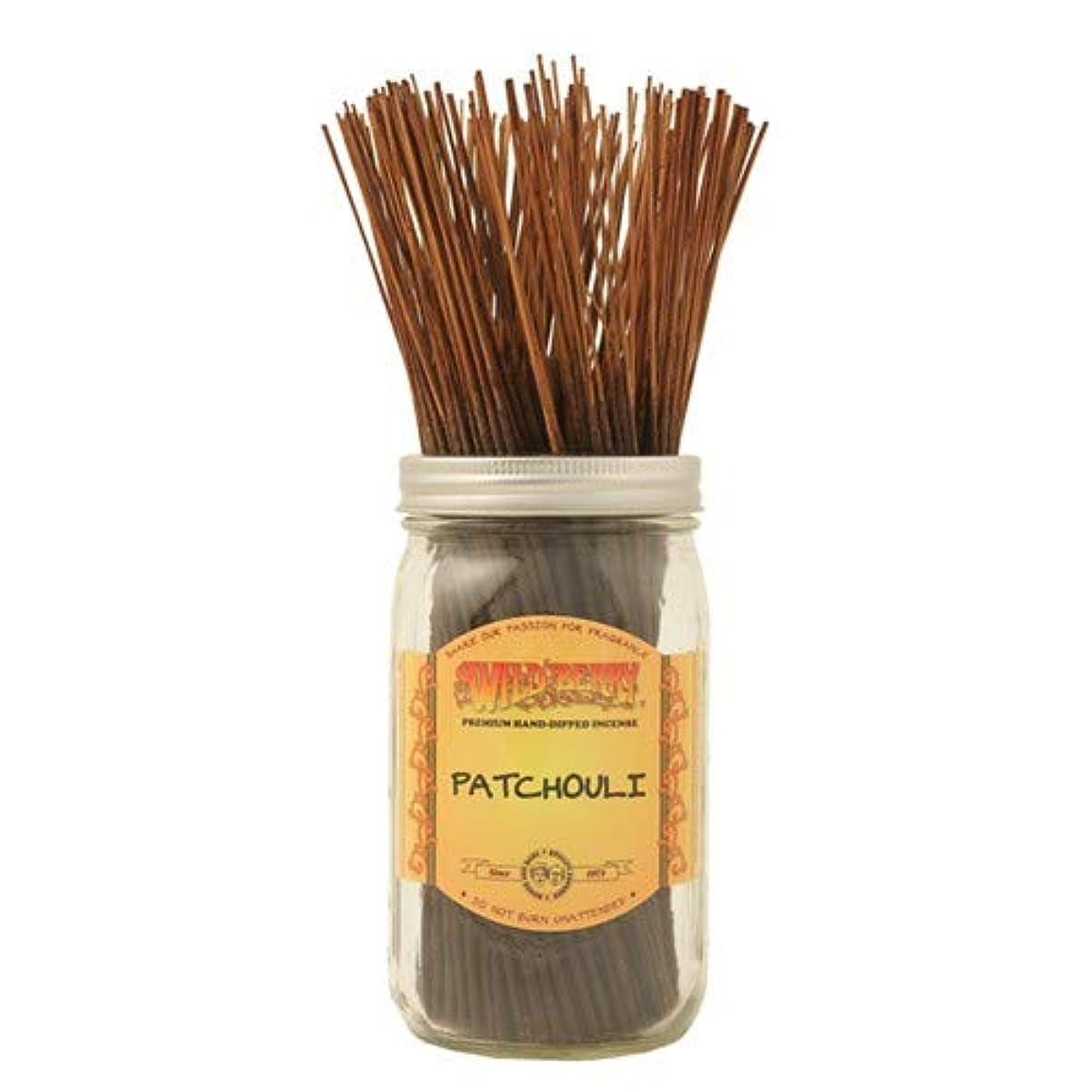 おしゃれじゃない失態はぁPatchouli - 100 Wildberry Incense Sticks