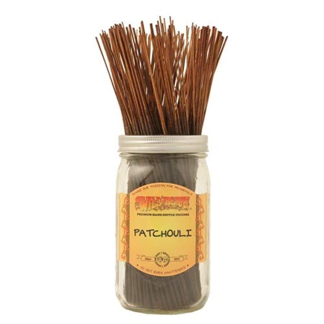 に勝る素晴らしき焦がすPatchouli - 100 Wildberry Incense Sticks