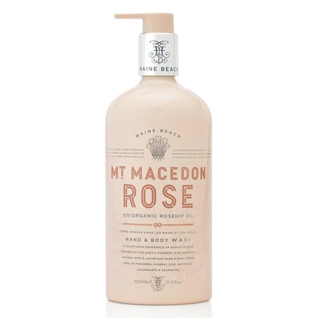 収穫首相証明書MAINE BEACH マインビーチ MT MACEDON ROSE マウント マセドン ローズ ハンド&ボディウォッシュ
