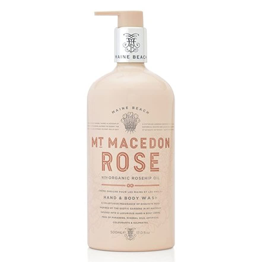 マットレスほうき即席MAINE BEACH マインビーチ MT MACEDON ROSE マウント マセドン ローズ ハンド&ボディウォッシュ