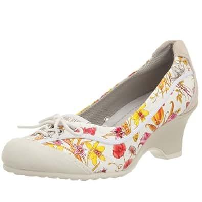 [ミッシェル クラン] MICHEL KLEIN Heel Up Sneaker MK-924 WHITE/WHITE (ホワイト/ホワイト/23)