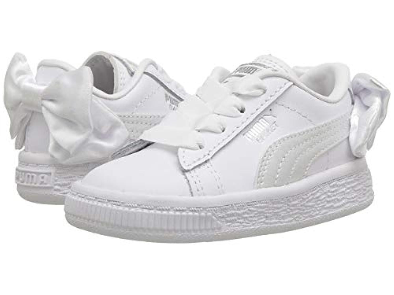 [PUMA(プーマ)] キッズスニーカー?靴 Basket Bow AC INF (Toddler) White 9 Toddler (15cm) M