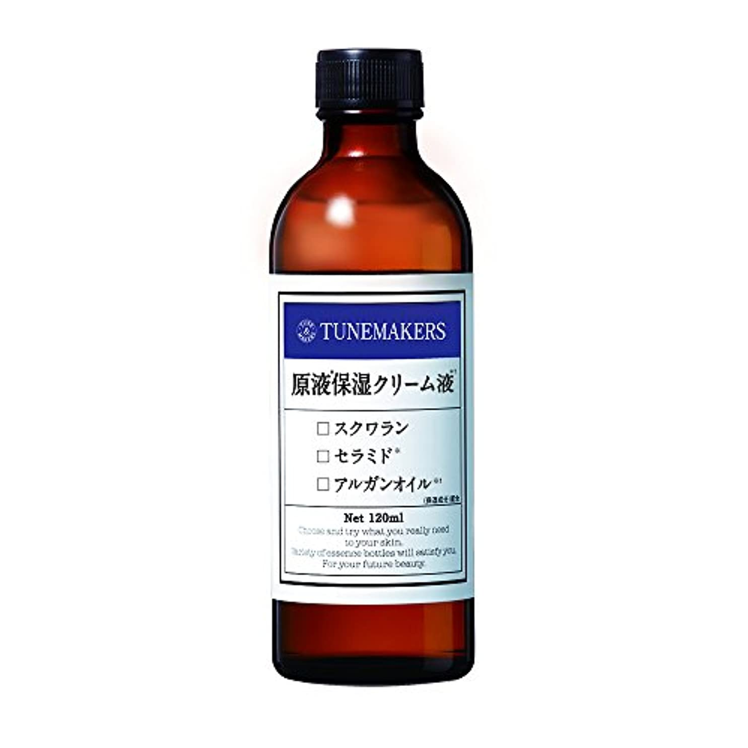 失速信者雄大なチューンメーカーズ 原液保湿クリーム液 とてもしっとり用 120ml 化粧水 [スクワラン?セラミド酸配合]
