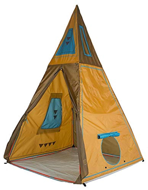 [(パシフィックプレイテント) Pacific Play Tents] [Pacific Play Tents キッズジャイアントティーピーテント 30610 Kids Giant Tee Pee Tent Playhouse, 59` x 59` x 96`] (並行輸入品)
