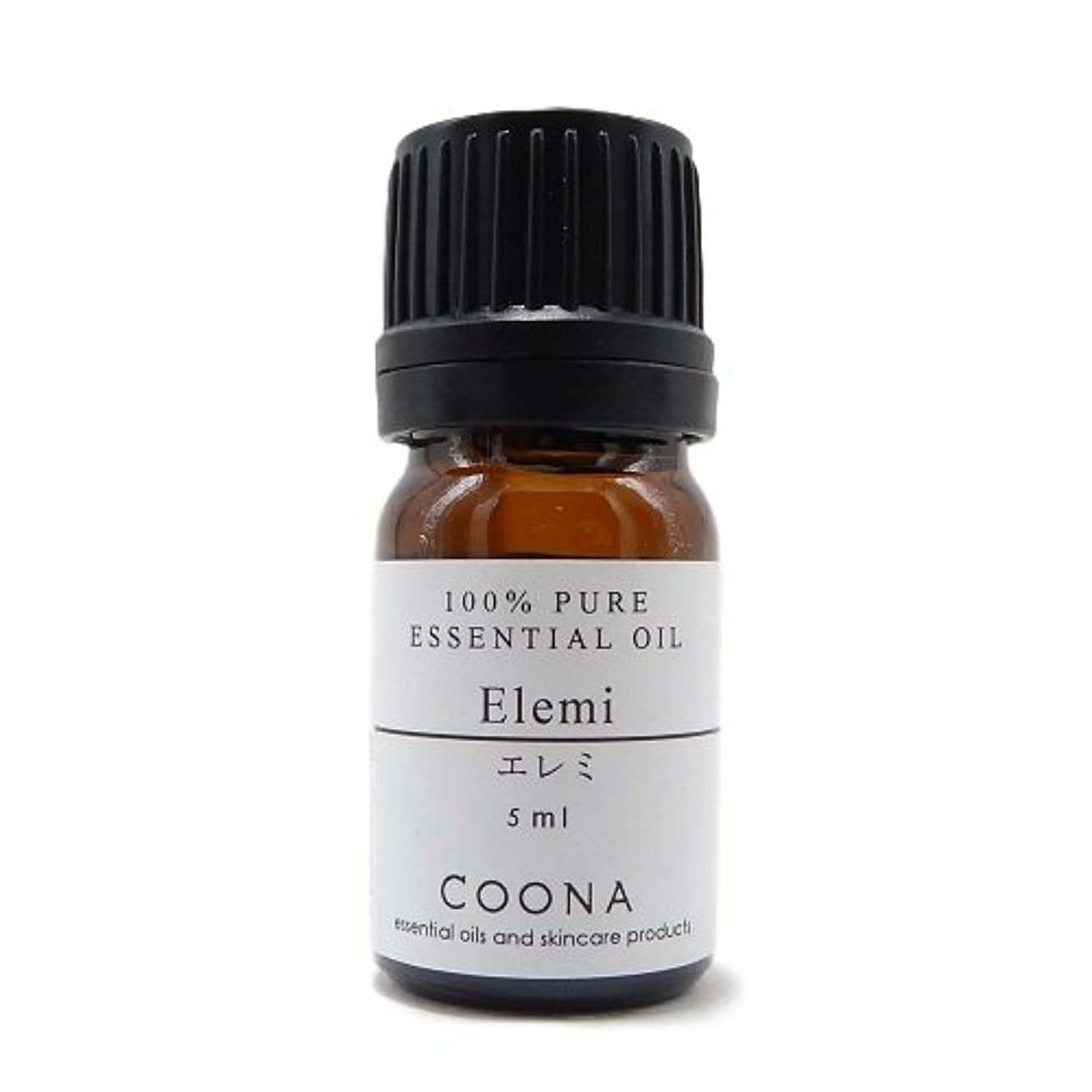 ダンス刈り取るバイバイエレミ 5 ml (COONA エッセンシャルオイル アロマオイル 100%天然植物精油)