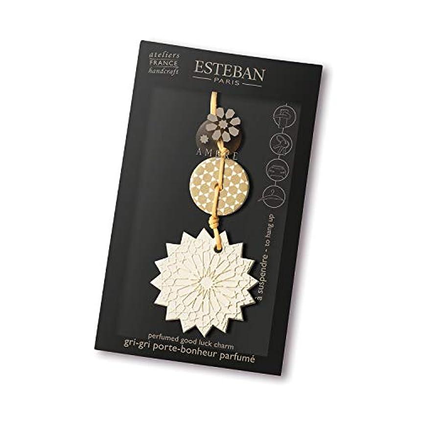 とまり木接触特別なエステバン(ESTEBAN) エステバン アンバー ラッキーチャーム 1個
