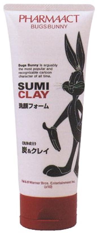 マトロン助けになる禁止熊野油脂 バックスバニー 炭&クレイ洗顔フォーム 130g