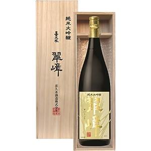 喜久水酒造 純米大吟醸 翠嶂 1800ml瓶 [長野県]