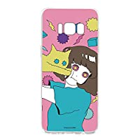 hare. Galaxy S8 SM-G950 ケース クリア ハード プリント ねこD (hr-009) スマホケース ギャラクシー エスエイト スリム 薄型 カバー 全機種対応 WN-LC097533