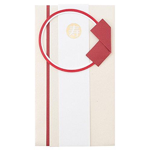 無印良品 再生紙祝儀袋 生成・短冊、短冊用テープ、封印シール付