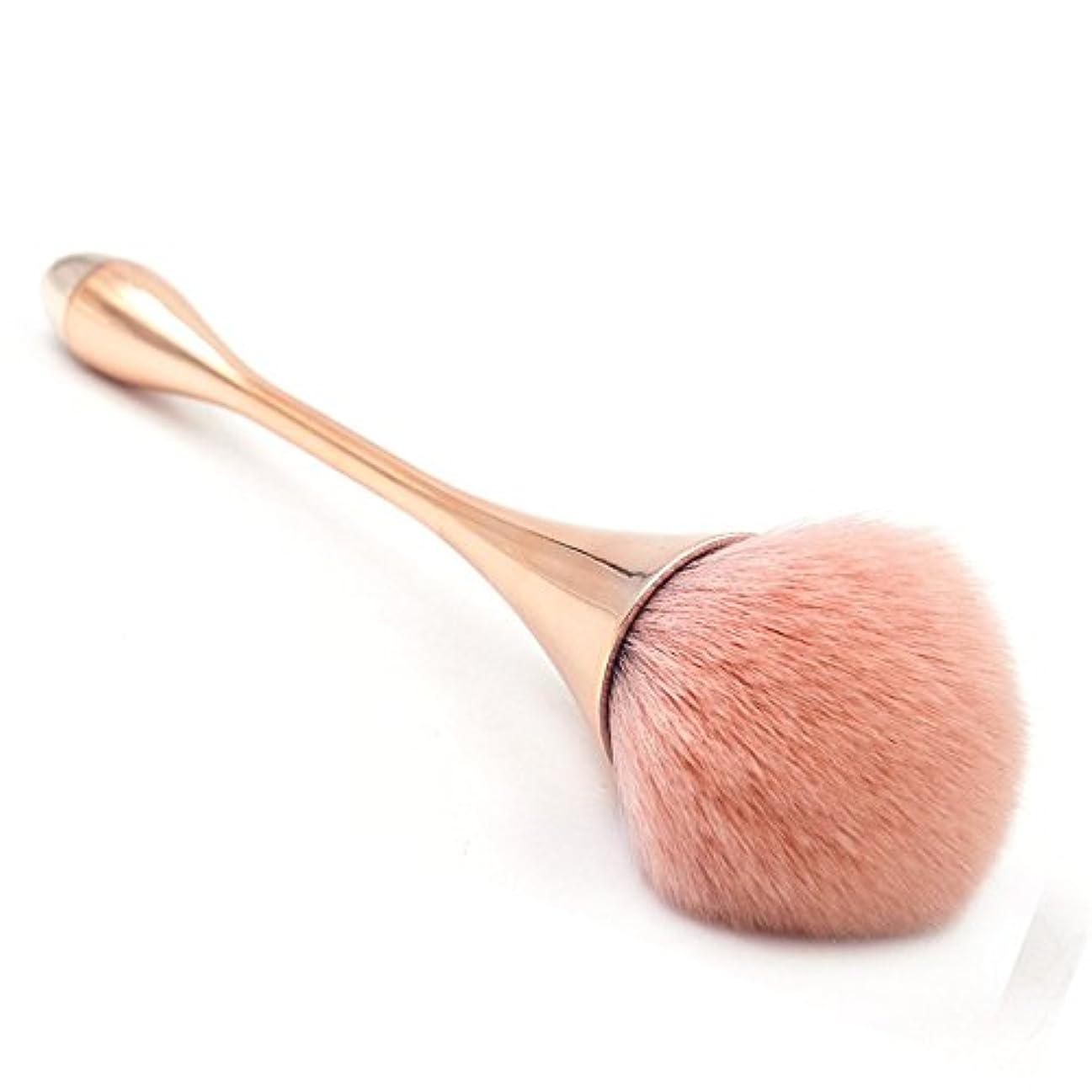 リサイクルする触覚アヒルスタイリッシュゴージャスな1ピース化粧道具ウォータードロップスモールウエストメイクブラシゴブレット化粧ブラシ -柔らかくまた滑らかで