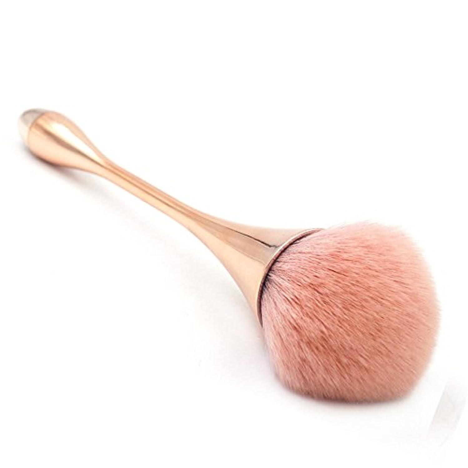 呪い一般目を覚ますスタイリッシュゴージャスな1ピース化粧道具ウォータードロップスモールウエストメイクブラシゴブレット化粧ブラシ -柔らかくまた滑らかで