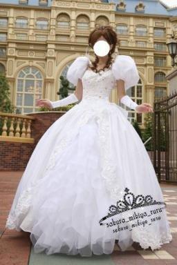 コスプレ衣装 魔法にかけられて☆ジゼルディズニープリンセス☆ オーダーサイズ可能 クリスマス、ハロウィン イベント仮装  コスチューム