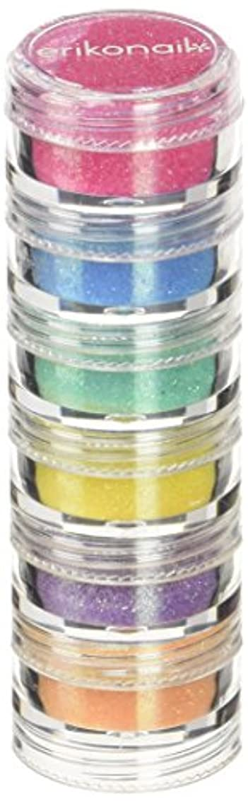許容できる取り除くピグマリオンビューティーネイラー エリコジュエリーコレクション 6段タワー ERI6-4 パステルグリッター