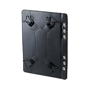 サンワサプライ タブレットホルダー (システム手帳 A5 6穴タイプ・7インチ) PDA-TABR7P