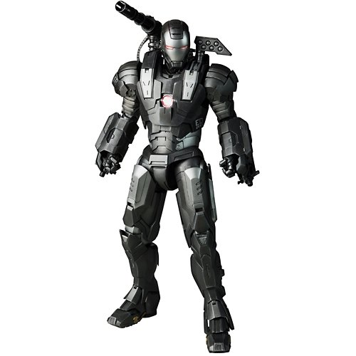 Movie Masterpiece Iron Man 2 1 6 Escala Figura máquina de guerra HOT TOYS