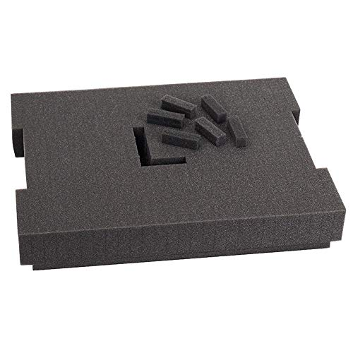 L-BOXX(エルボックス) 用スポンジインレイ80mm/1600A001S1